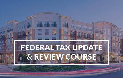2021 College Park, MD - Federal Tax Update & Review Course