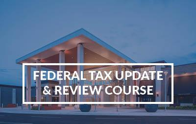 2021 Federal Tax Update and Review Course - Springfield