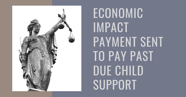 Economic Impact Payment Sent to Pay Past Due Child Support